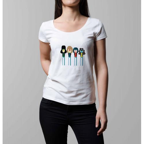 T-shirt femme Ramones Technicolor