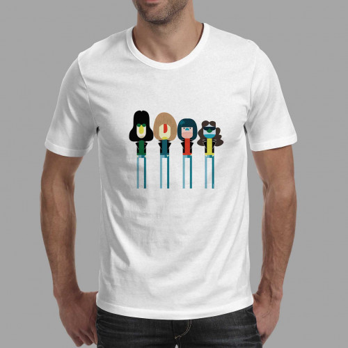 T-shirt homme Ramones Technicolor