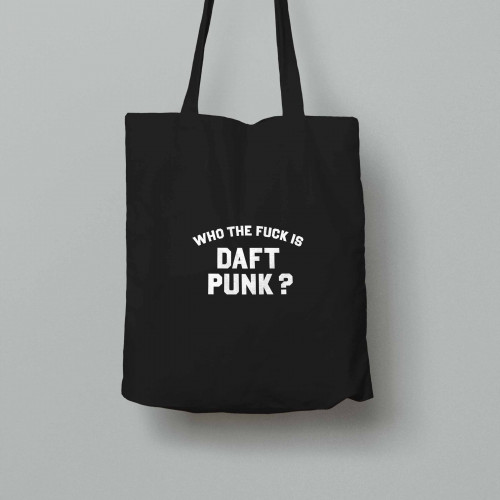 Tote bag Who the fuck is Daft Punk