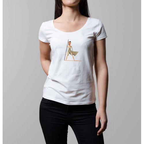 T-shirt femme Star Wars Rey