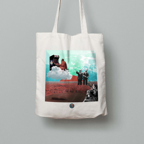 Tote bag Arcade game