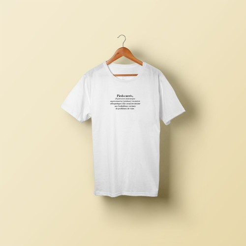 T-shirt homme Pieds carrés