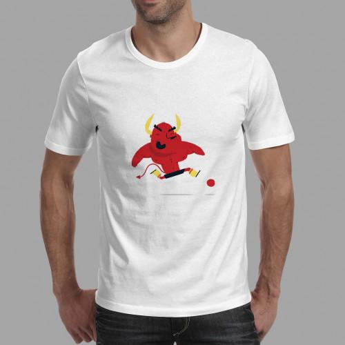 T-shirt homme Diable Rouge