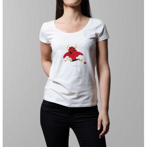 T-shirt femme Diable Rouge