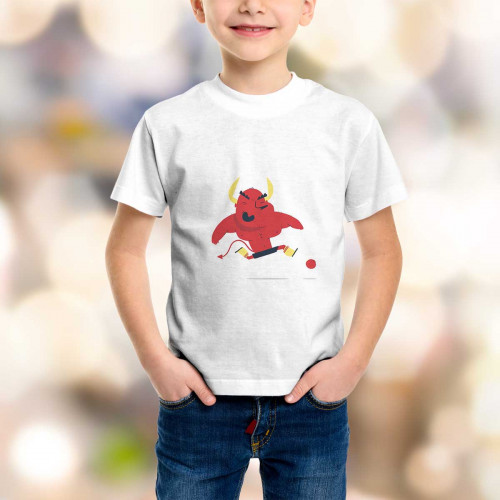T-shirt enfant Diable Rouge