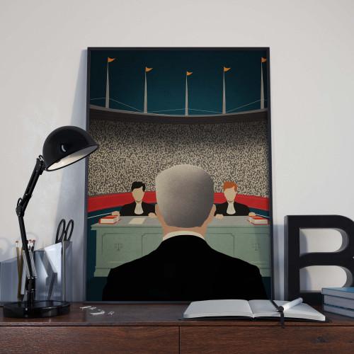 Affiche Le procès de Mourinho