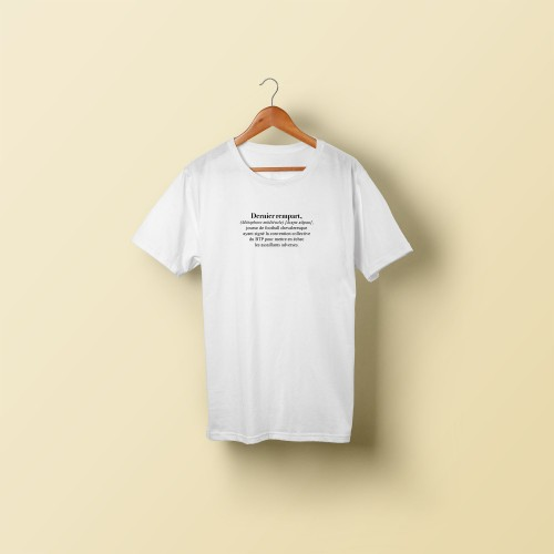 T-shirt homme Dernier rempart