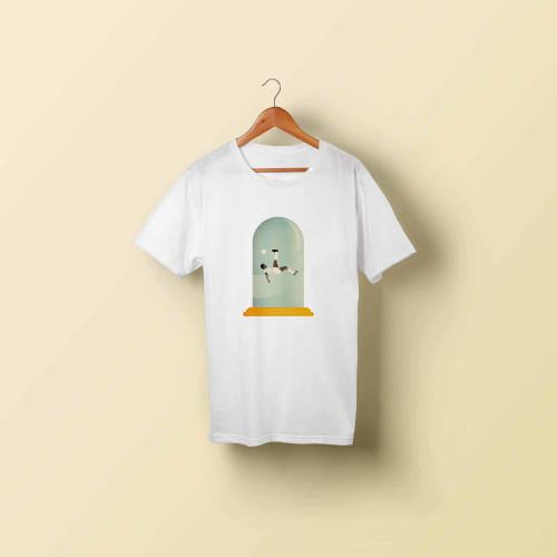 T-shirt homme Le retourné acrobatique