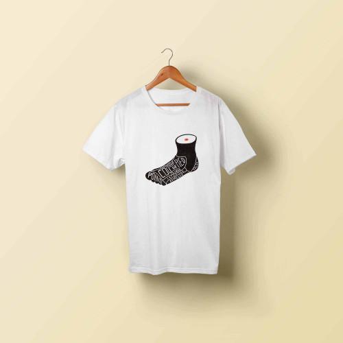 T-shirt homme Le pied beau