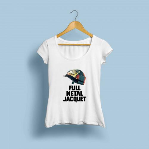 T-shirt femme Full metal Jacquet