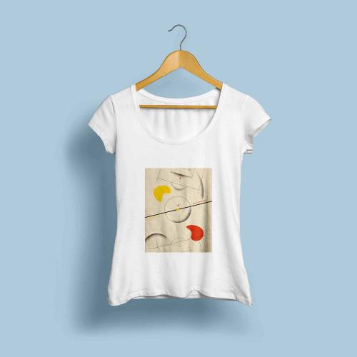T-shirt femme La beauté du jeu
