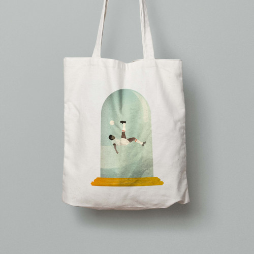 Tote bag Le retourné acrobatique