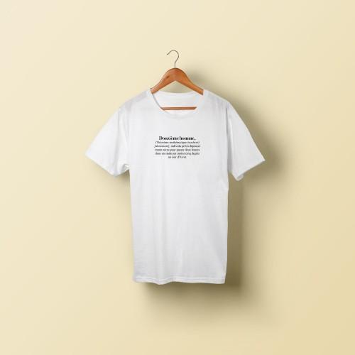 T-shirt homme Douzième homme