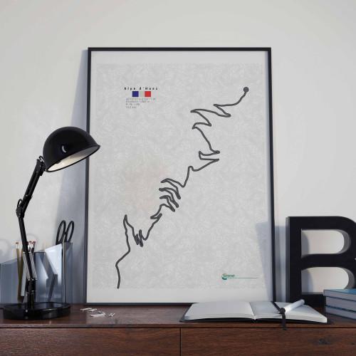 Affiche Alpe d'Huez
