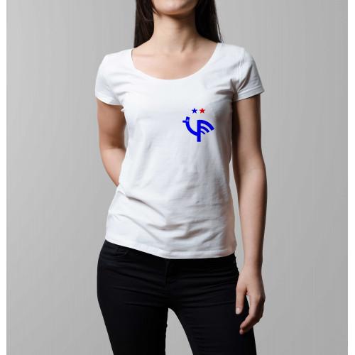 T-shirt femme Ecusson 2e étoile