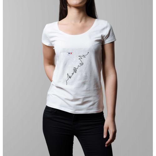 T-shirt femme Alpe d'Huez