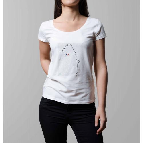 T-shirt femme Mont Ventoux