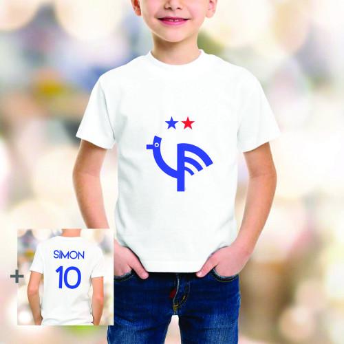 T-shirt enfant 2e étoile personnalisé