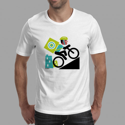 T-shirt homme Rider livreur