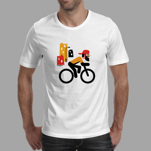 T-shirt homme Rider hipster