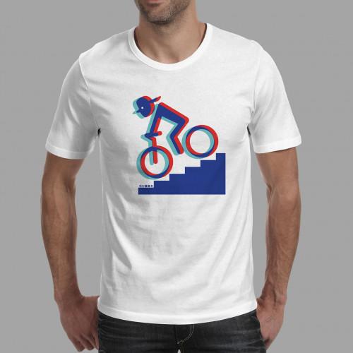 T-shirt homme Rider 3D