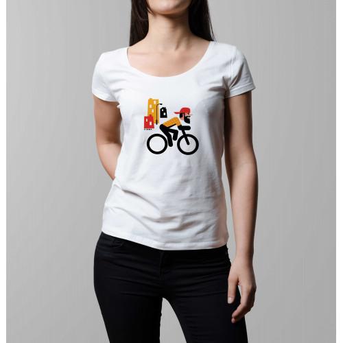 T-shirt femme Rider hipster