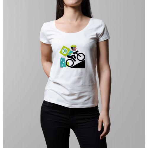 T-shirt femme Rider livreur