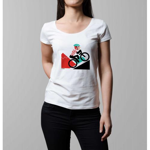 T-shirt femme Rider grimpeur