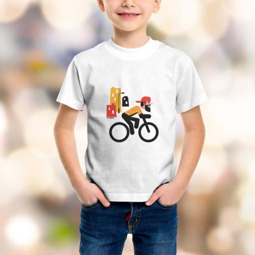 T-shirt enfant Rider hipster
