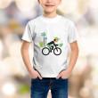 T-shirt enfant Rider et cocotiers