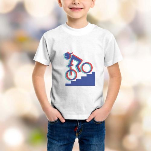 T-shirt enfant Rider 3D