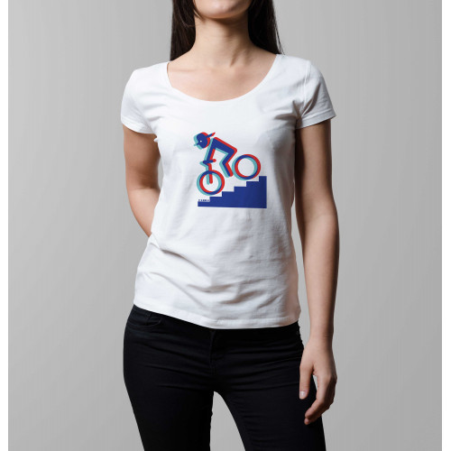 T-shirt femme Rider 3D