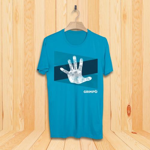 T-Shirt Chalk Hand