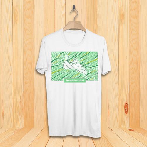 T-Shirt homme Velcro