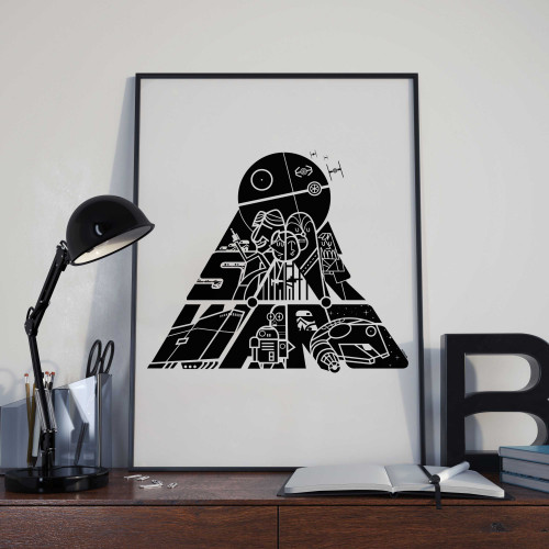 Affiche Etoile noire