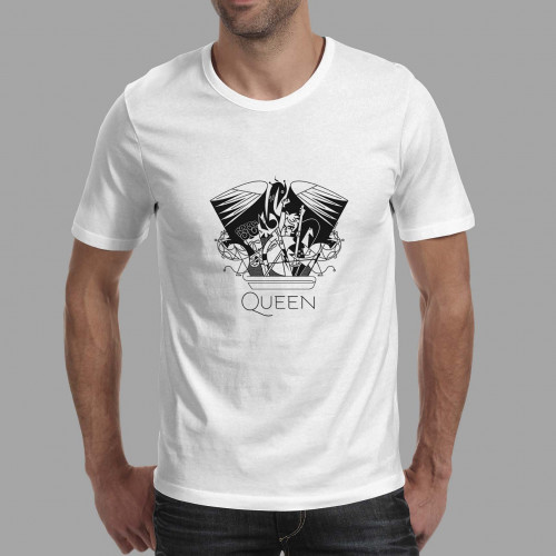 T-shirt homme Queen Crest