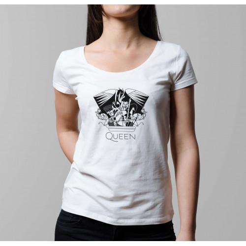 T-shirt femme Queen Crest