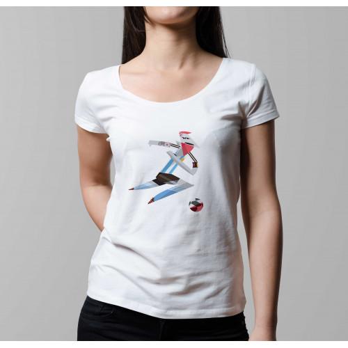 T-shirt femme Leo Messi