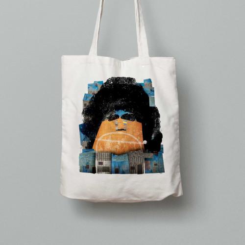 Tote bag Maradona Boca