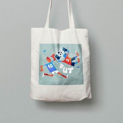 Tote bag Foot But!