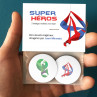 Badges Super Héros