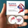 Badges Super Héros