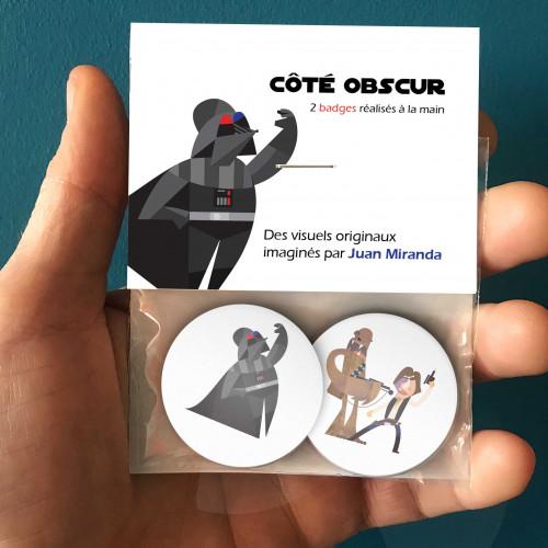 Badges Côté obscur
