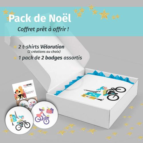 Pack Noël Vélorution femme