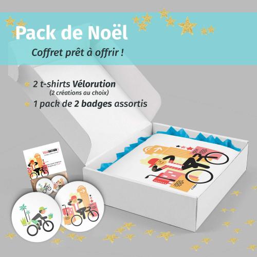 Pack Noël Vélorution