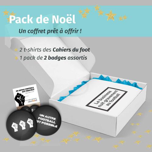 Pack Noël Cahiers du foot
