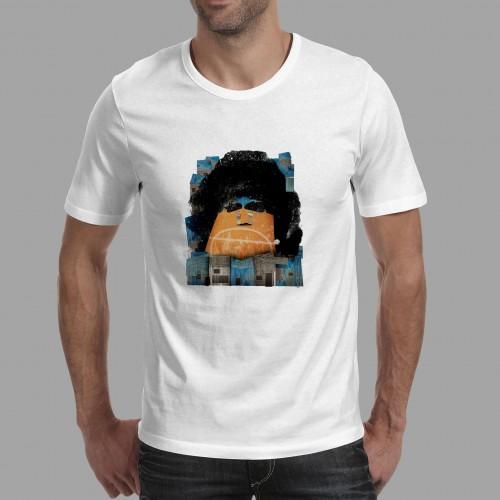 T-shirt homme Maradona Boca