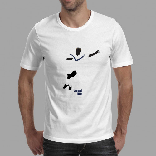 T-shirt homme Feindouno, PSG-Bordeaux 1999