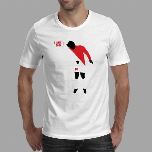 T-shirt homme Morientes, Monaco-Real 2004