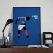 Affiche Zidane, Mondial 98